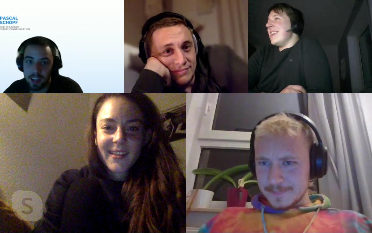 Skype-Call Team